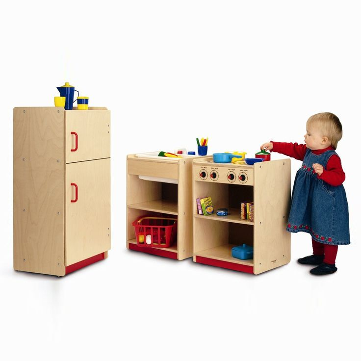 Give Kids Their Very Own Play Kitchen With The Toddler Kitchen Set. Little  Ones Love