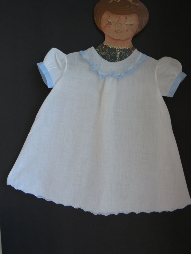 Vintage Baby Girls Infant Dress Heirloom Baptism