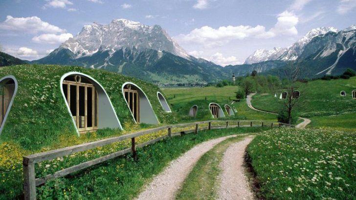 Diy Eco Hobbit House Kit Sheds, Huts & Tree Houses