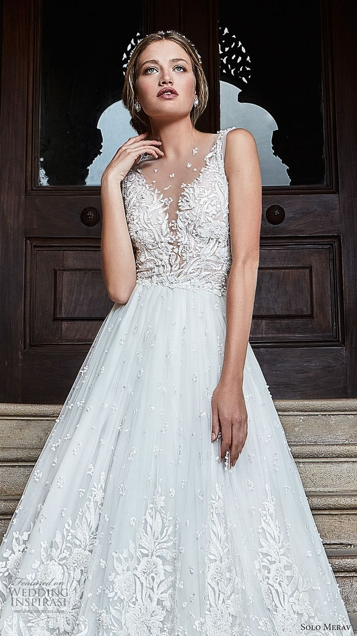 Spectacular Solo Merav Wedding Dresses u ucGames of Lace ud Bridal Collection