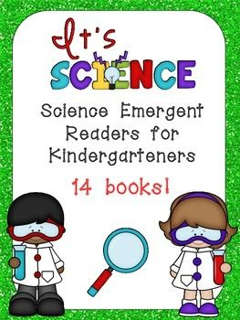 Kindergarten teachers are constantly trying to integrate science topics into literacy instruction... this set of 14 emergent reader little books will help you do just that!! These books would be great for independent reading, browsing boxes, or Read to Self. There are many kindergarten science topics included, such as seasons, life cycles, weather, and hibernating animals.