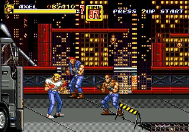 Streets of Rage - Sega MegaDrive