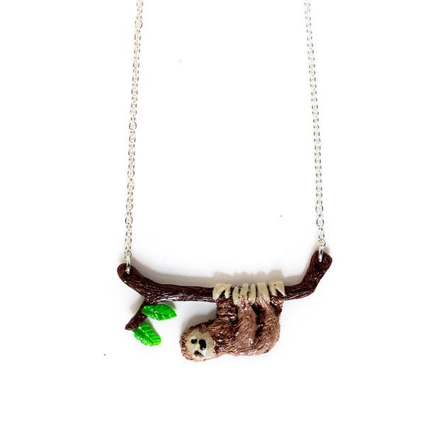 Sloth Necklace – Shelfies