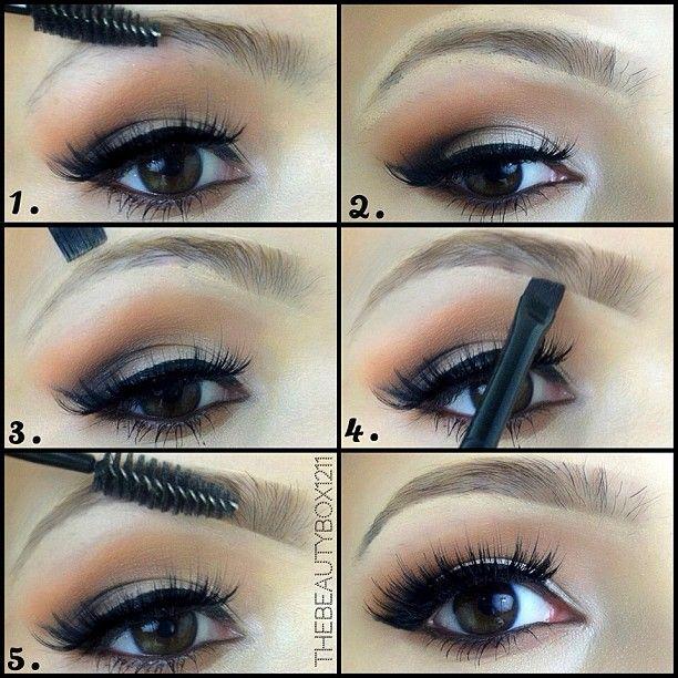 Easy Natural Eyebrow Tutorial #thebeautybox1211 #youtube ...