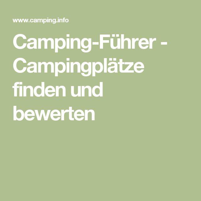 Camping-Führer - Campingplätze finden und bewerten