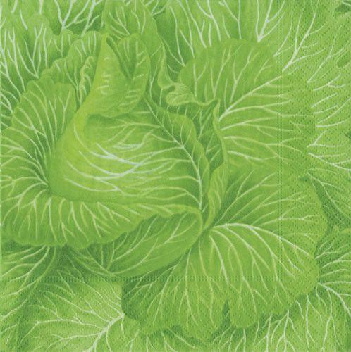 Cabbageware Paper Napkins by Caspari