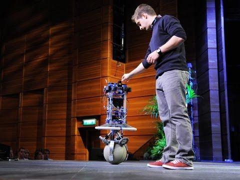 Péter Fankhauser: Meet Rezero, the dancing ballbot