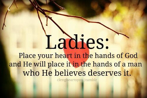 Trusting God for Mr. Right