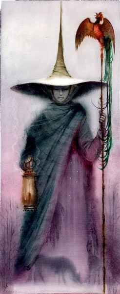 Magick Wicca Witch Witchcraft:  #Witch. Artist Igor Olejnikov.