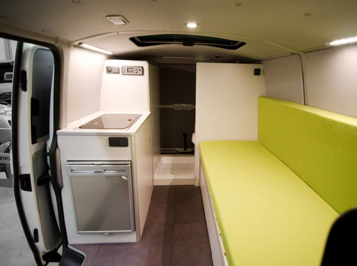 Vw t5 van interno