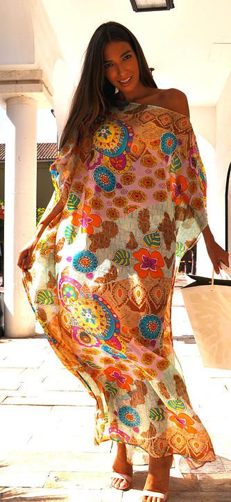 SENA DESIGN - beautiful colorful noble modern silk kaftans