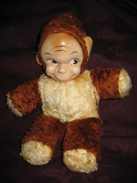 Gund Monki Monkey Stuffed Plush Animal Figure Toy Doll