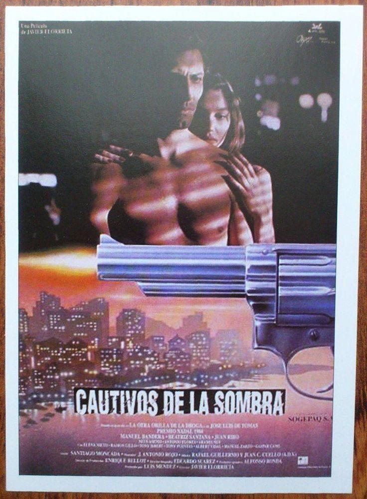 CAUTIVOS DE LA SOMBRA - Manuel Bandera Antonio Flores Beatriz Santana Photo Card