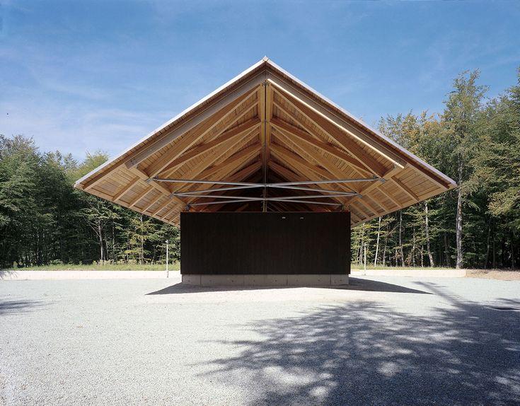 Dethier Architecture - Forest lodge, Tenneville 2004. photos (C) Serge Brison.