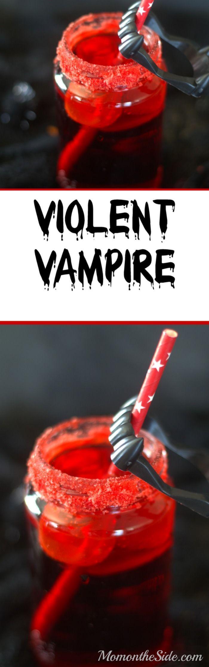 Violent Vampire Drink for Halloween