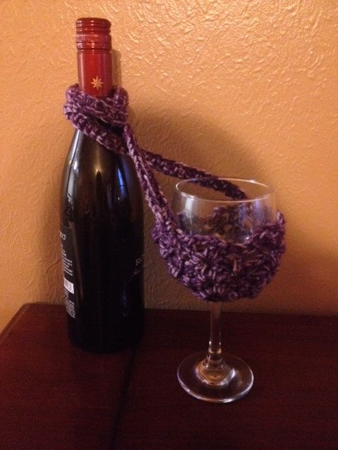 Hands Free Wine Glass Holder