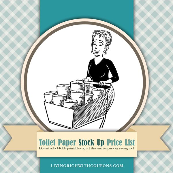 Toilet Paper Stock Up Price List – When to Use Toilet Paper Coupons!