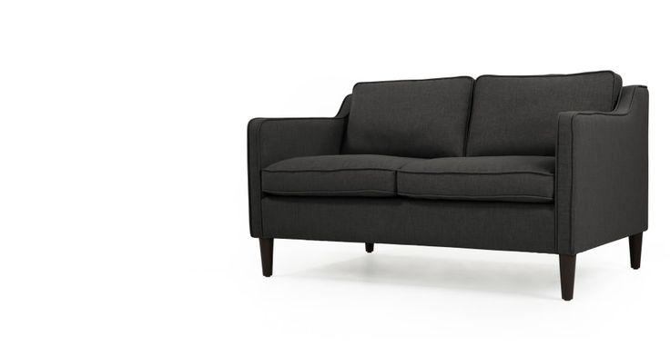 Walken 2-Sitzer-Sofa in Tiefgrau - MADE.COM | MADE.COM