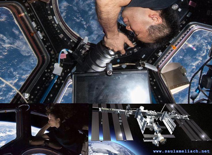 Estación Espacial Internacional transmite en 4K desde el espacio.