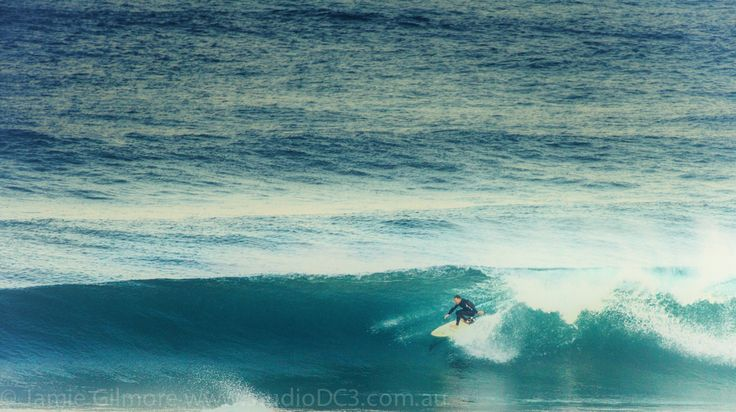 Last wave of the day. Bar Beach Newcastle