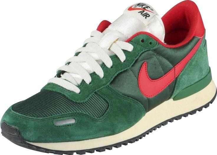 Nike Air Vortex schoenen groen rood