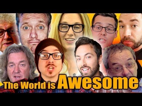 Why The World Is Awesome in 60 Facts - Geek Week Special - Earth Unplugged.     I really am a nerd because I enjoyed all of these.