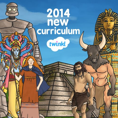 All the resources you need for the 2014 New Curriculum - Twinkl