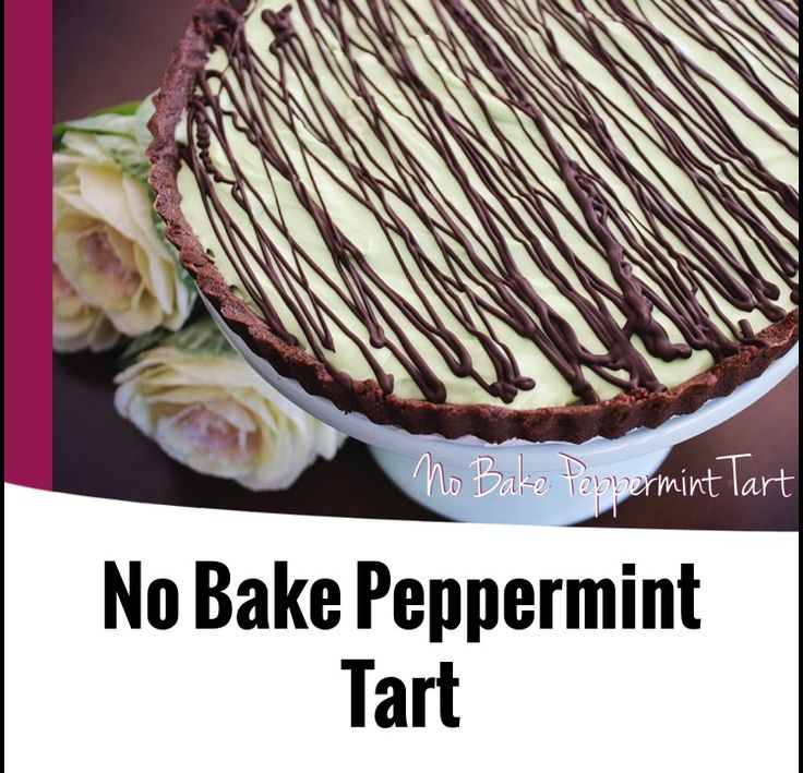 {Thermomix} No Bake Peppermint Tart