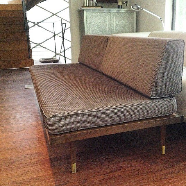 Best 25 midcentury daybeds ideas on pinterest midcentury chaise lounge chairs midcentury - Chaise daling ...