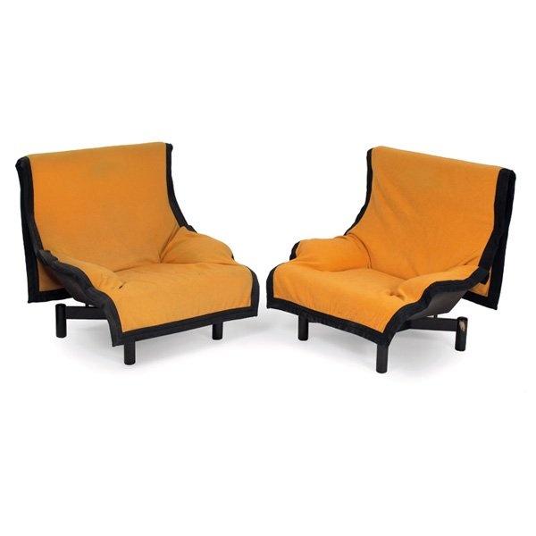 "Vico Magistretti, ""Sinbad"" chairs, by Cassina, 1981"