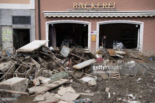 SIMBACH AM INN, GERMANY - JUNE 03: The furniture of a bakery... #storefuglede: SIMBACH AM INN, GERMANY - JUNE 03: The… #storefuglede