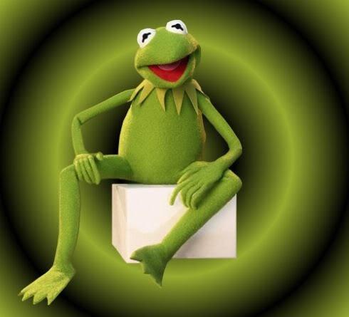 That's Kermit, Kermit the Frog........