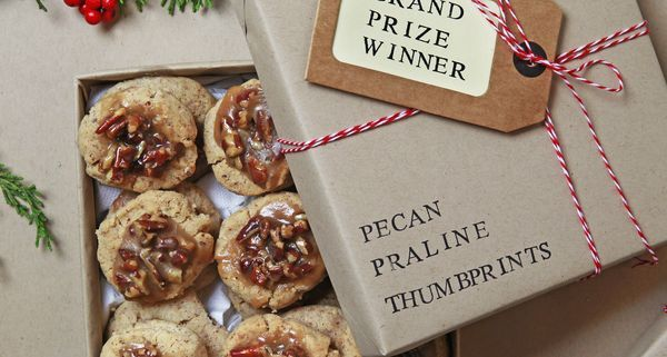 This buttery pecan praline thumbprint cookie won the 2016 Holiday Cookie Contest.