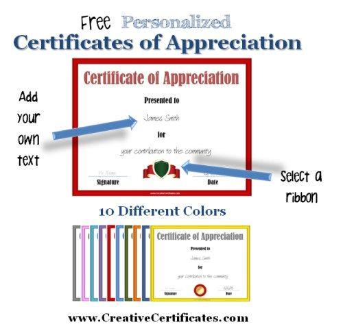 Oltre 25 fantastiche idee su Free Certificate Maker su Pinterest - free blank printable certificates