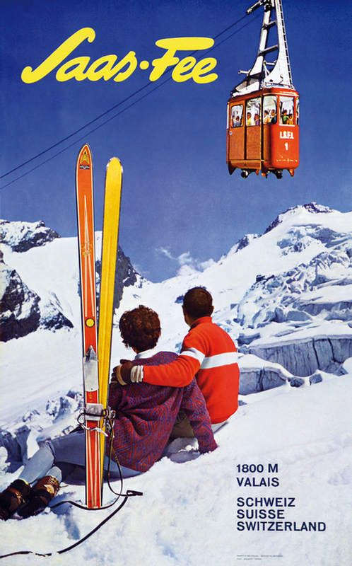 saas fee poster - Google Search