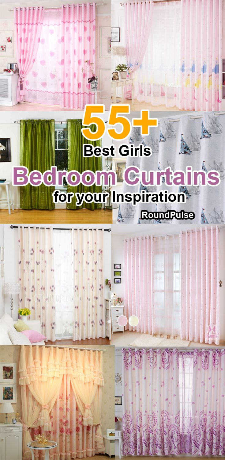 55+ Best Girls Bedroom Curtains  for your Inspiration