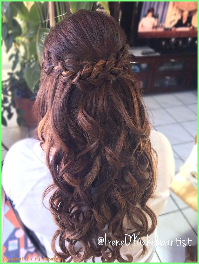Geflochtene Frisuren – 12+Find Out Who is Talking About Prom Hairstyles for Long Hair Half up…