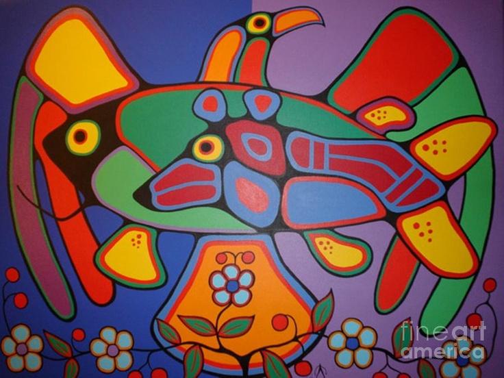 Nurturing the Soul Painting - Nurturing the Soul Fine Art Print - Jim Oskineegish