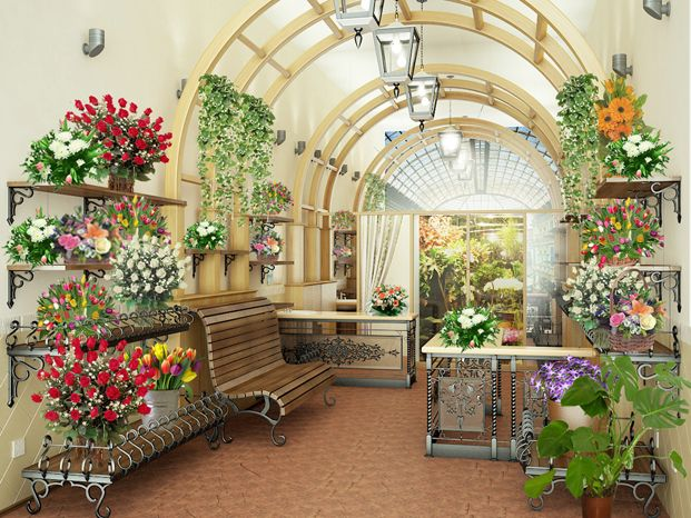 Дизайн цветочного магазина. Говорят, садовник может цветок вырастить, а может и…