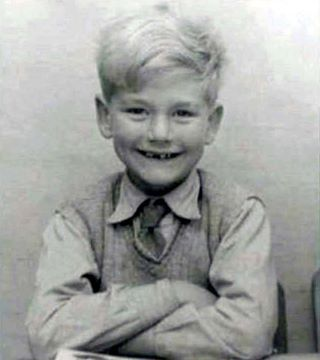 Robert Plant, 6 years old...so cute!