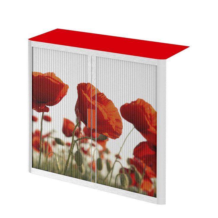 Rollladenschrank easyOffice Nature - Rot, easy Office und Paperflow Jetzt bestellen unter: https://moebel.ladendirekt.de/wohnzimmer/schraenke/weitere-schraenke/?uid=db73c02d-1b64-5125-af07-fa45ec218c73&utm_source=pinterest&utm_medium=pin&utm_campaign=boards #möbel #schraenke #paperflow #büro #wohnzimmer #office #büroschränke #weitereschraenke #easy