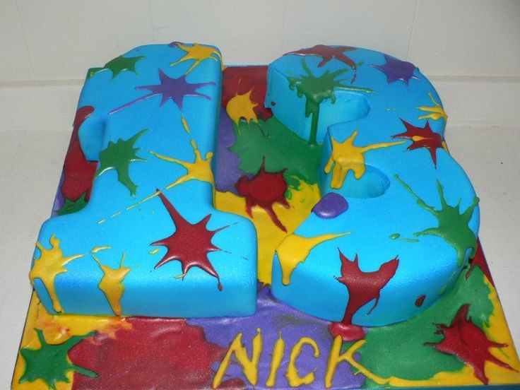 Paintball Birthday Parties | Paintball Birthday Cake Flickr Photo Sharing Picture