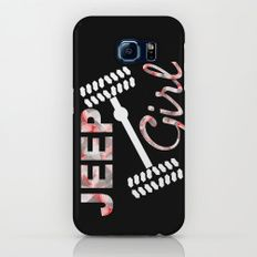 Jeep Girl Camo Slim Case Galaxy S6