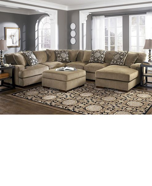 Oversized sectional sofa with chaise  sc 1 st  Pinterest : sectional with recliner and sleeper - Sectionals, Sofas & Couches