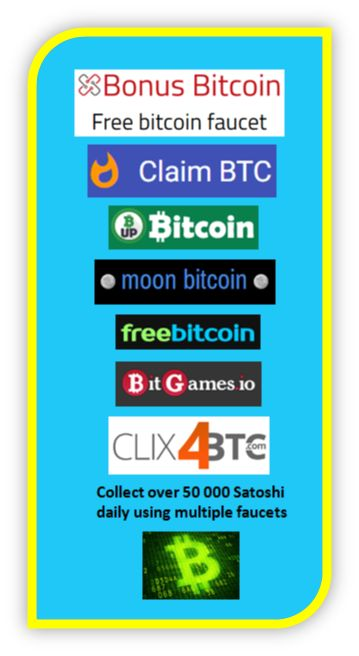 A step by step tutorial on how to get started using Bitcoin faucets and collecting free Satoshi. https://affiliateincomemarketing.com/how-to-get-free-bitcoins-the-bitcoin-faucet  #bitcoin #bitcoinfaucets #freebitcoin #satoshi #freesatoshi #collectbitcoin #extraincome #faucetlist