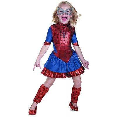For Elizabeth. Spider Girl Kids Toddler Superhero Spider Man Spiderman Halloween Costume | eBay