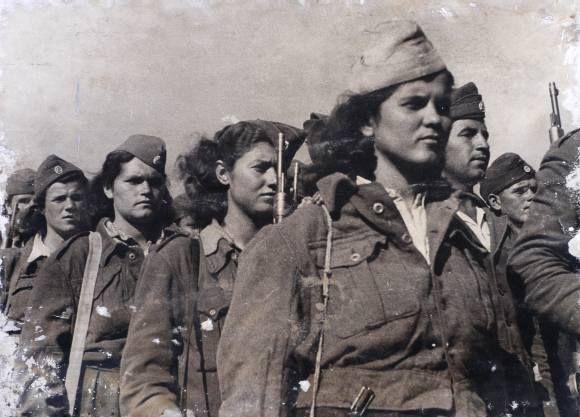 Women in Greek Civil War