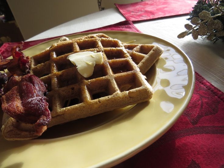 Gingerbread Waffles ~ Gluten Free and Dairy Free Recipes ~ Passionate ...