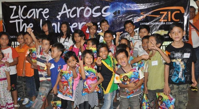 Zafira Indonesia Community Peduli Anak Jalanan