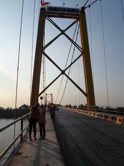Jembatan Barito, Banjarmasin, Kalimantan Selatan, Indonesia